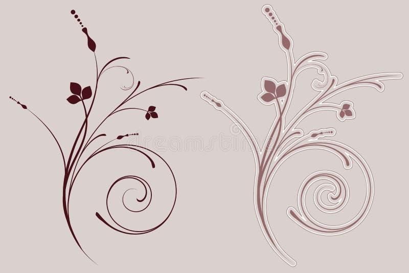 Flourish décoratif illustration de vecteur