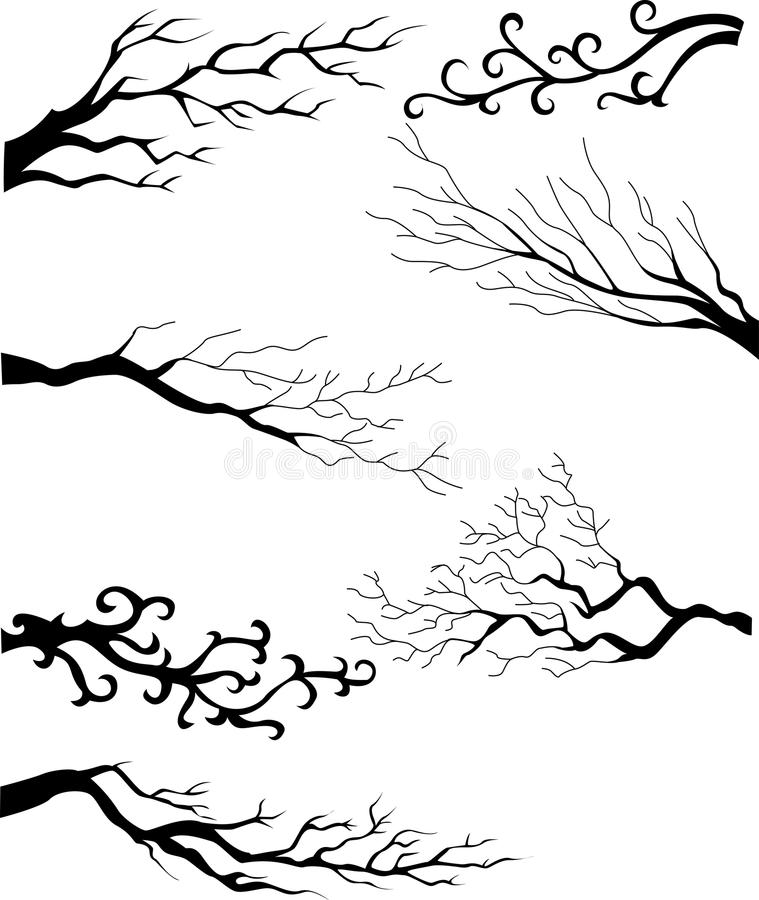 Flourish design elements collection royalty free illustration