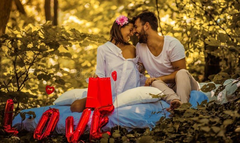 Flourishes di amore fotografia stock libera da diritti