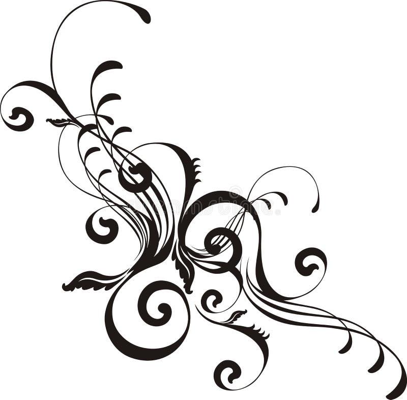 Flourishes hermosos del vector stock de ilustración