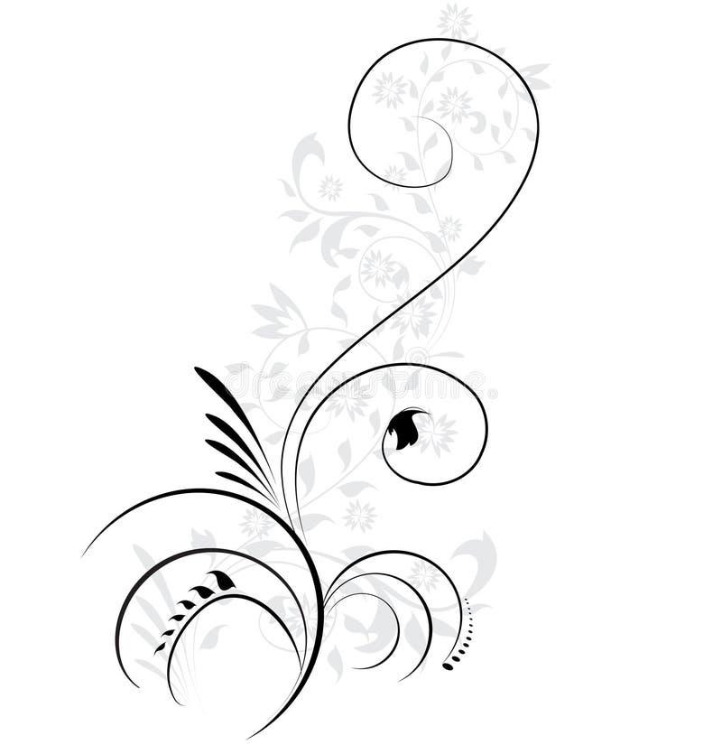 Flourishes que remolinan libre illustration