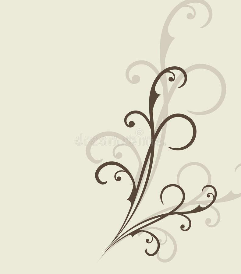 Flourishes Retro Royal Luxury Uitnodiging, Certificaat met plaats voor uw Tekst stock illustratie