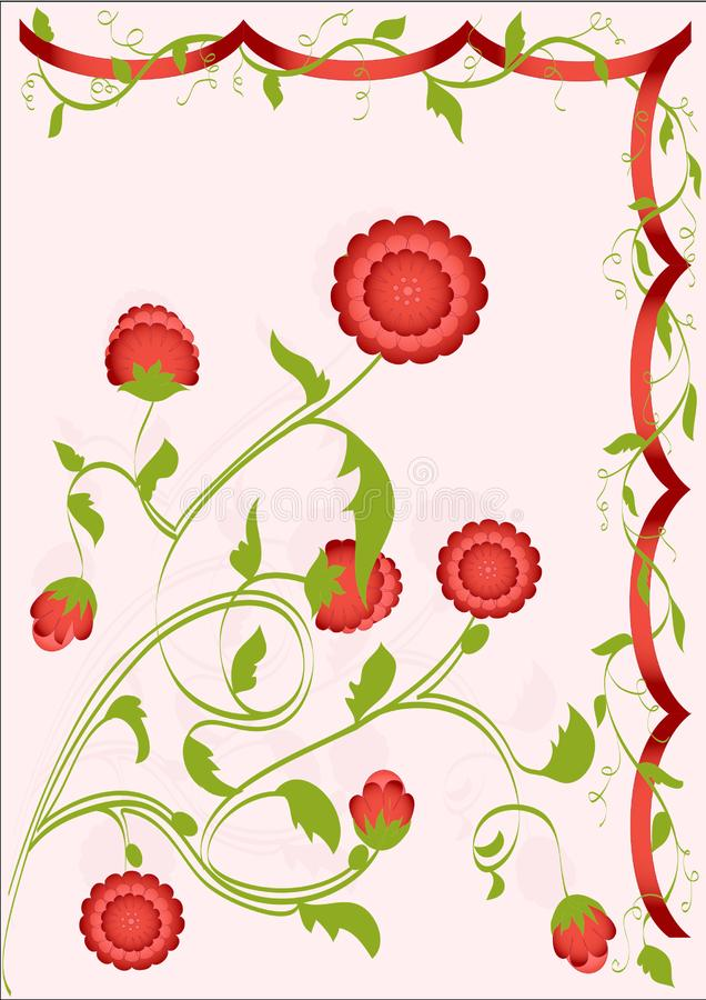 Download Flover stock vector. Illustration of nature, accent, intricacy - 8991199