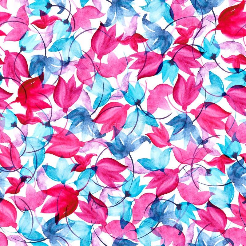 Flover naadloos patroon stock illustratie
