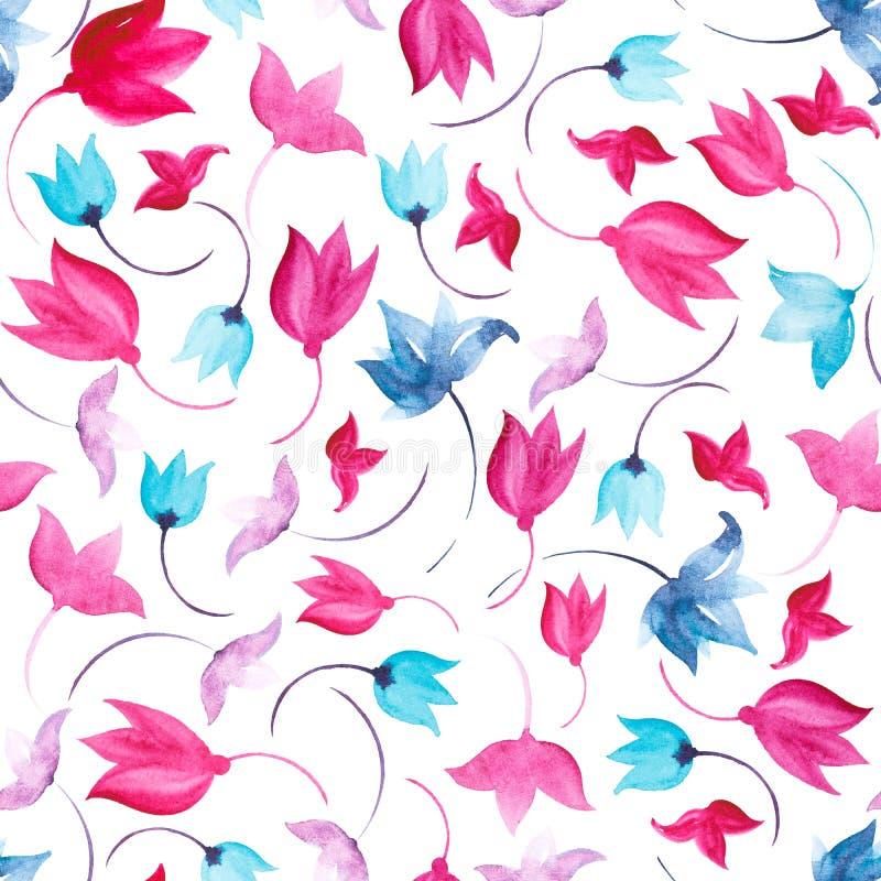 Flover naadloos patroon royalty-vrije illustratie