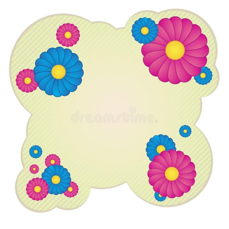 Flovers van de lente vector illustratie