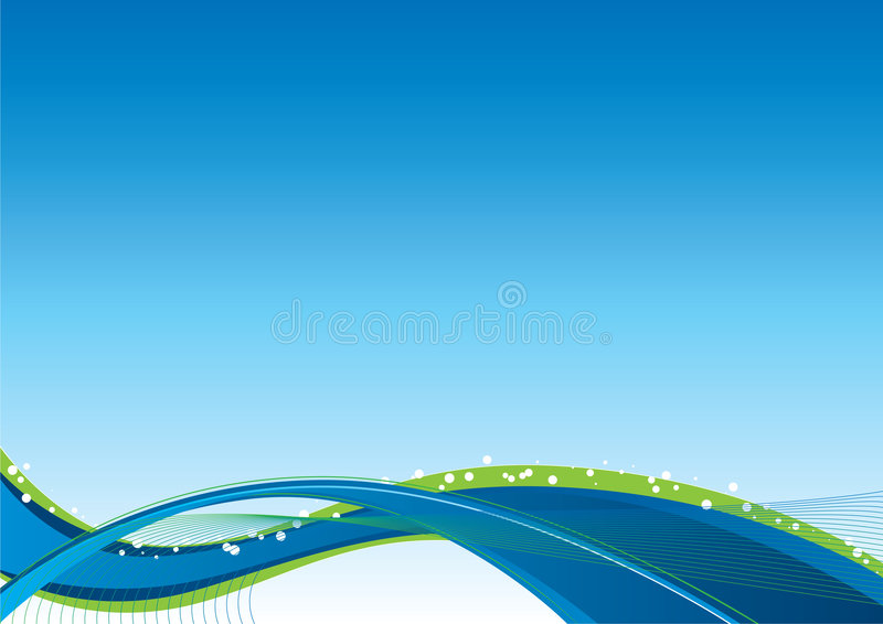 Flow Background Blue stock images