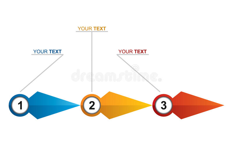 Flow chart vector illustration