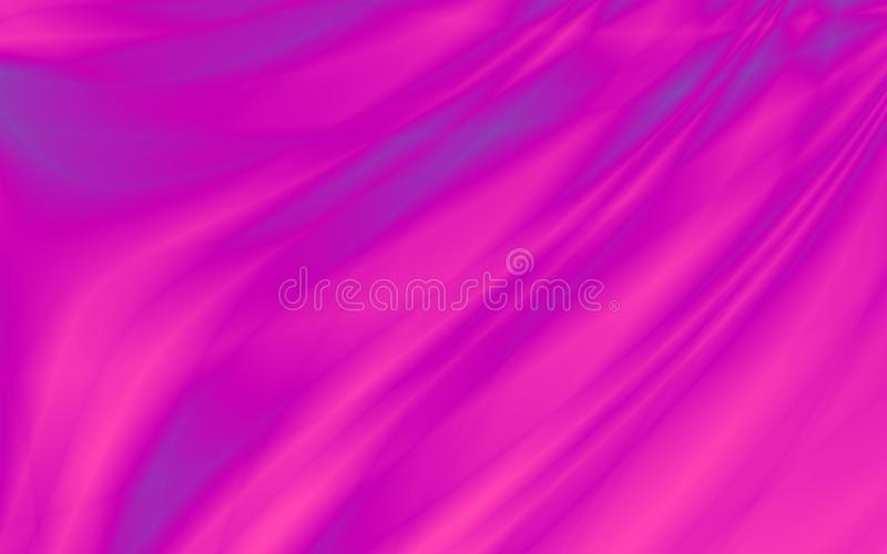 Energy bright purple curtain abstract background royalty free illustration
