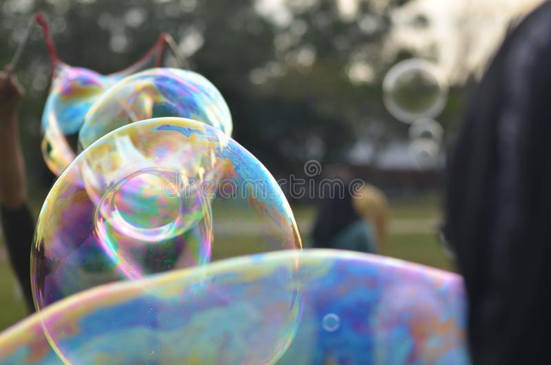 Flow like a bubble , don& x27;t stop when it snap ...stay strong on your visin royalty free stock image