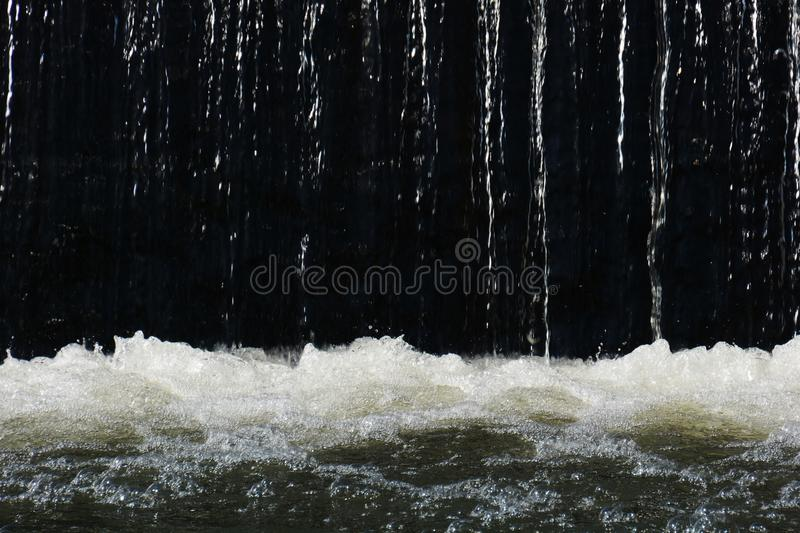 Water texture. Flow of water texture / Wter background royalty free stock photo