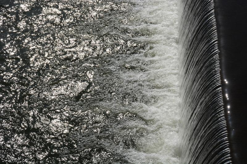 Water texture. Flow of water texture / Wter background stock image