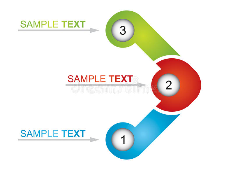 Flowchart element. Abstract business illustration for your template vector illustration