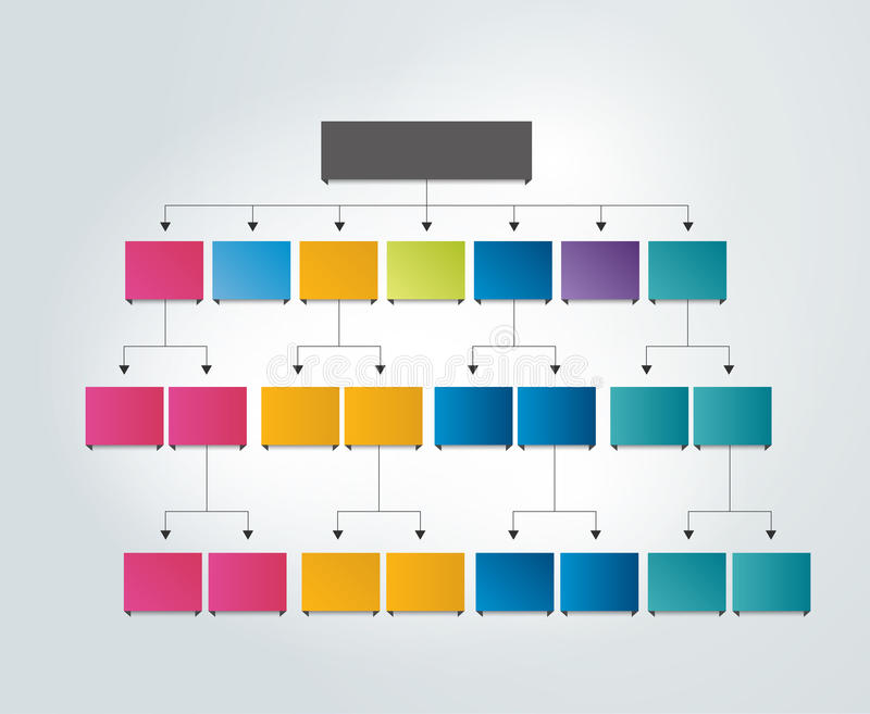 Flowchart empty scheme. Vector illustration vector illustration
