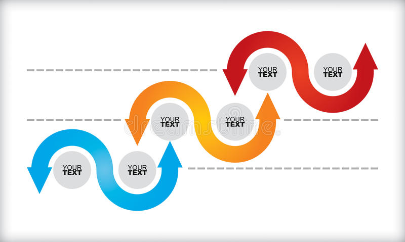 Flowchart template vector illustration