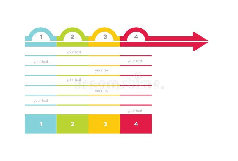 Flowchart template stock illustration