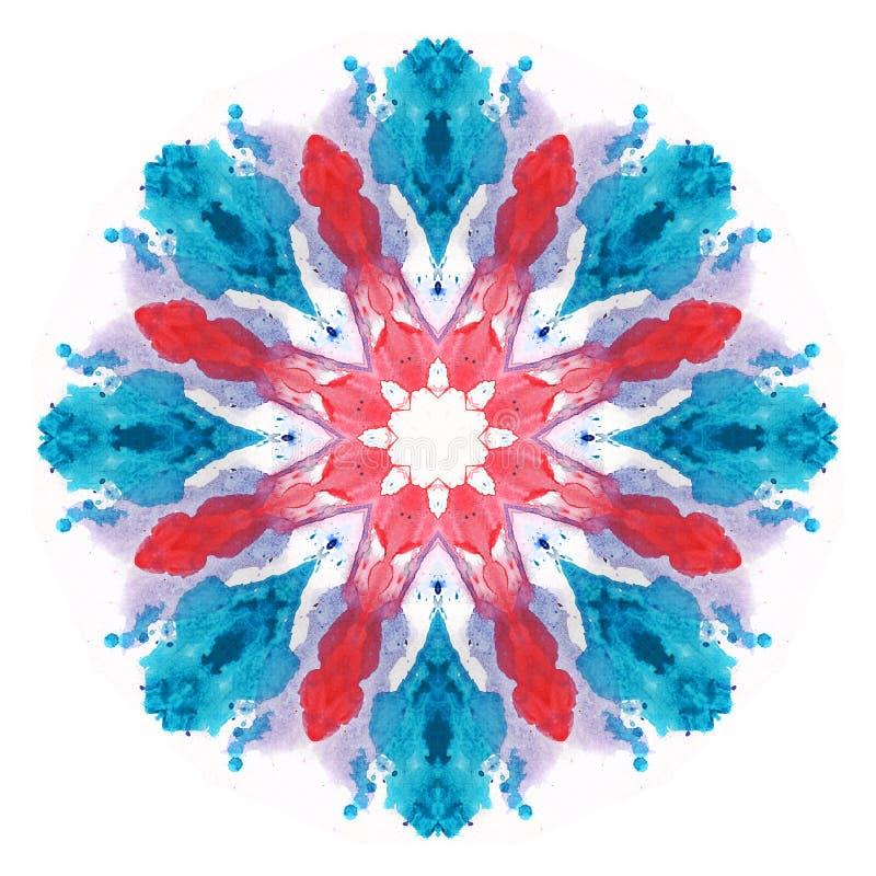  flowerакварели иллюстрация вектора