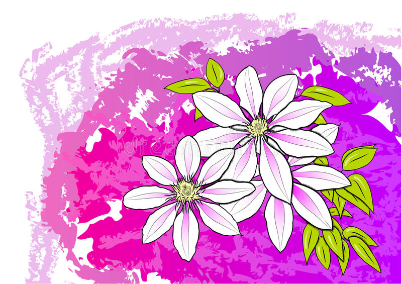 Download Flower stock vector. Illustration of abstract, background - 14948587