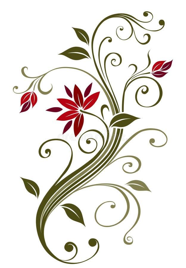 Flower. Abstract flower. High detailed vector illustration