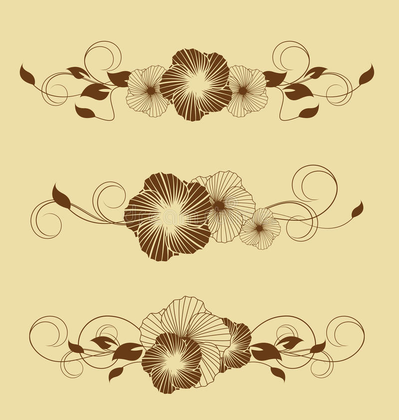 Download Flower stock vector. Image of beauty, drawing, decoration - 25537507