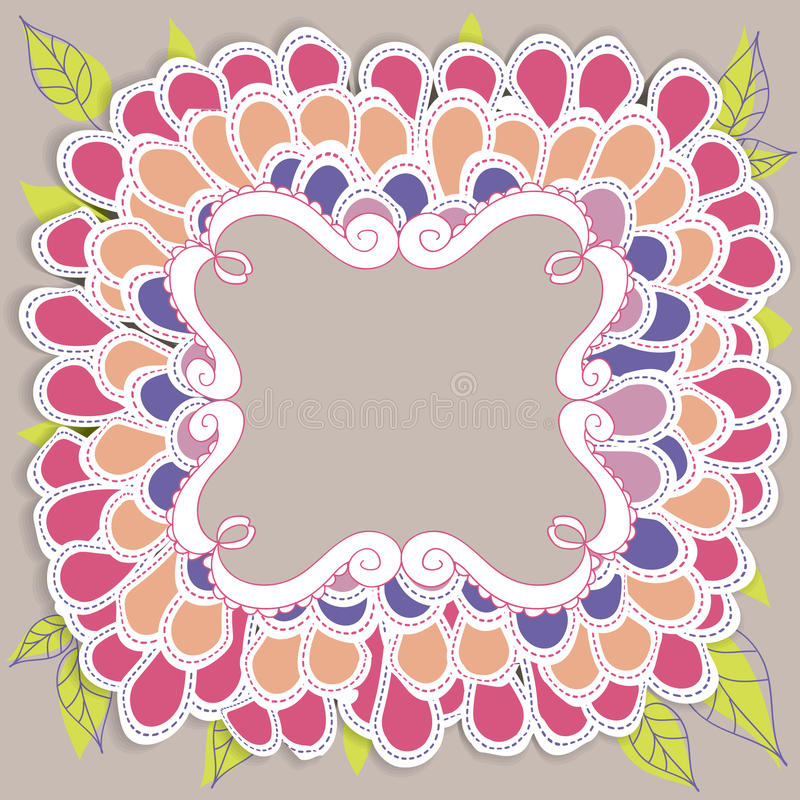 Download Flower stock vector. Illustration of symbol, image, decoration - 27814687