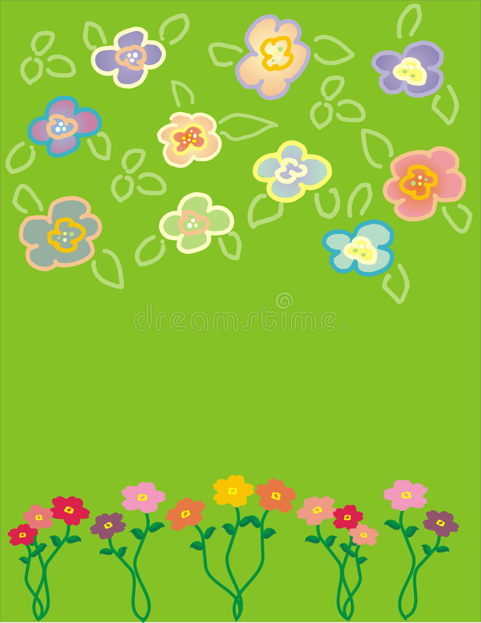 Flower. Illustration vector illustration