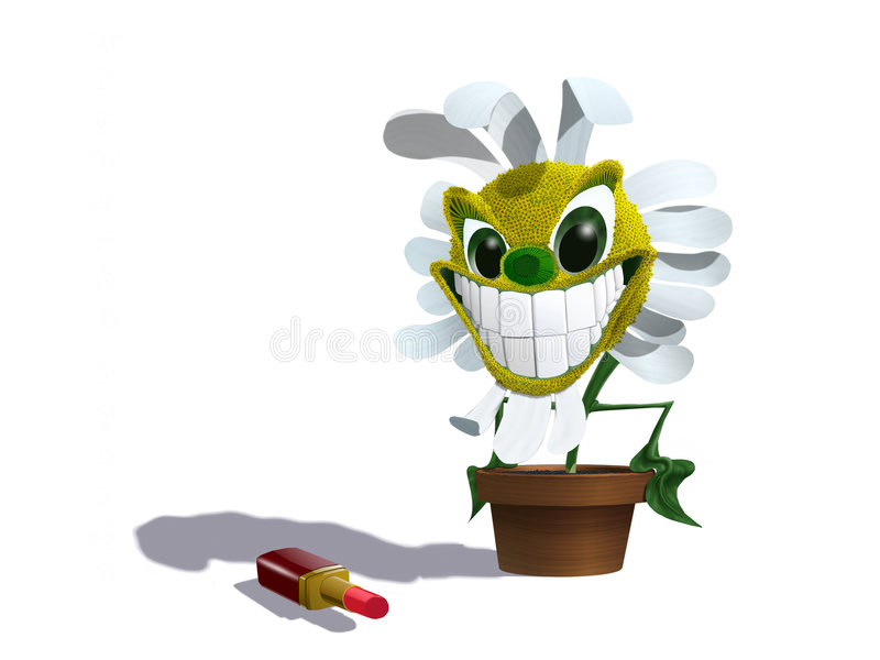 Download Flower for stock illustration. Image of flourish, smile - 7342568