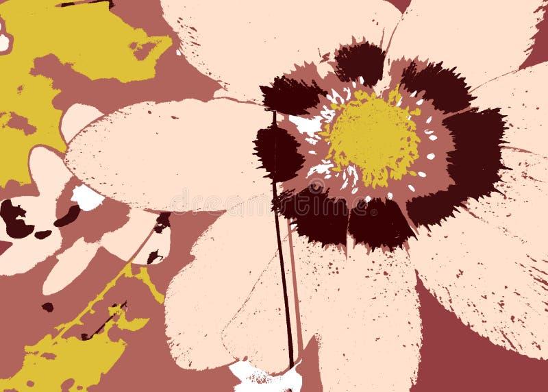 Download Flower stock illustration. Illustration of grunge, design - 900353