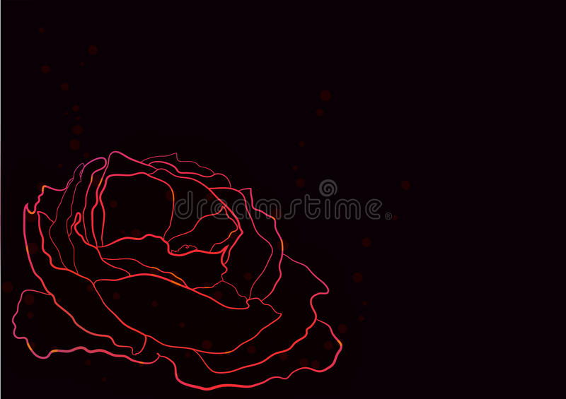 Flower abstraction royalty free stock image