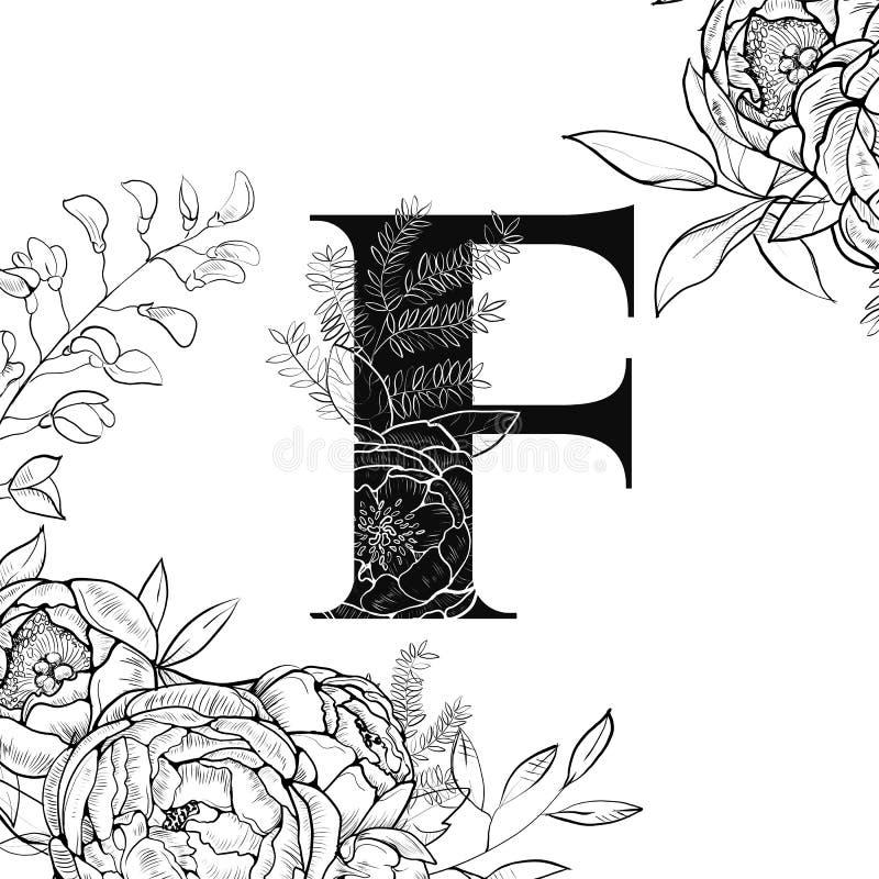 Flower alphabet letter f pattern stock vector illustration of download flower alphabet letter f pattern stock vector illustration of child love 114772761 maxwellsz