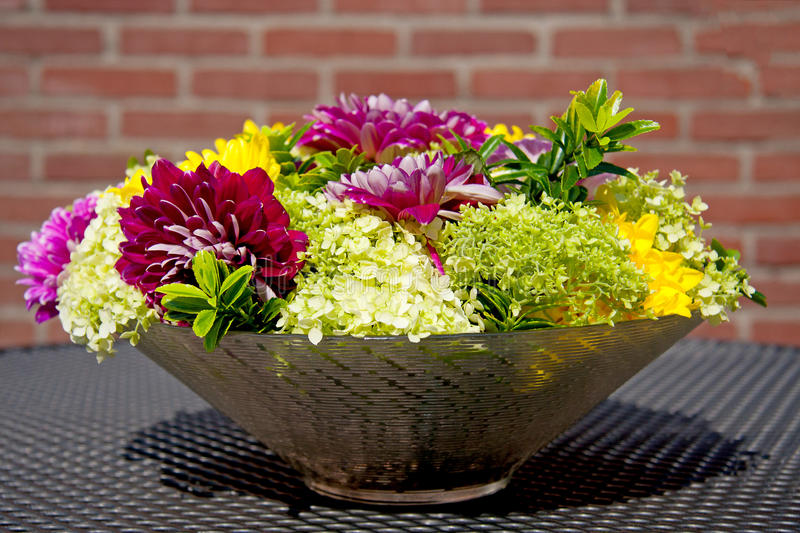 Download Flower arrangement stock image. Image of beautiful, bowl - 15014123