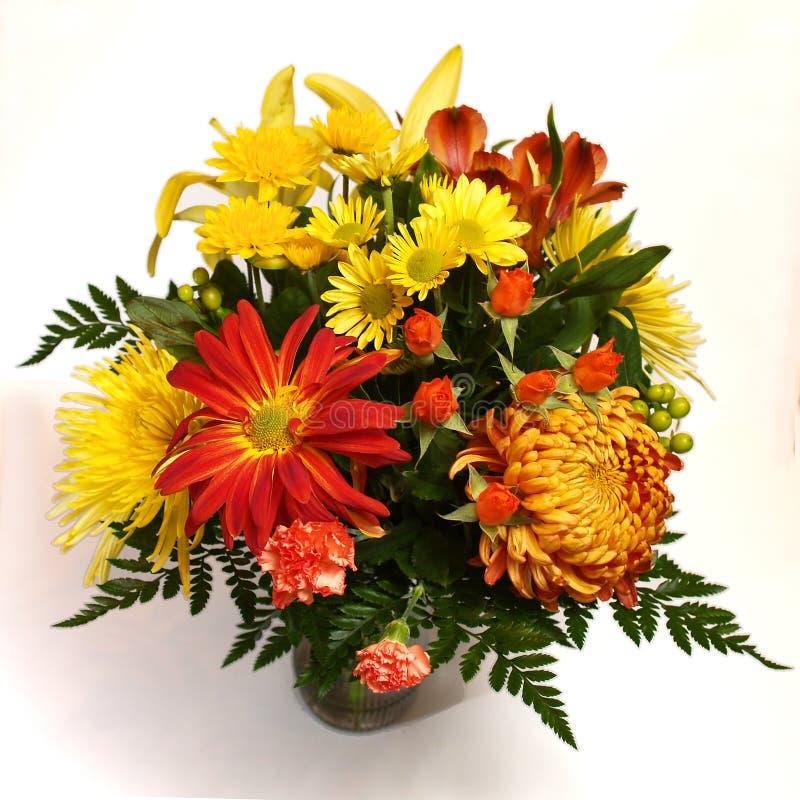 Free Flower Arrangement On White Background 3 Stock Photo - 1534230