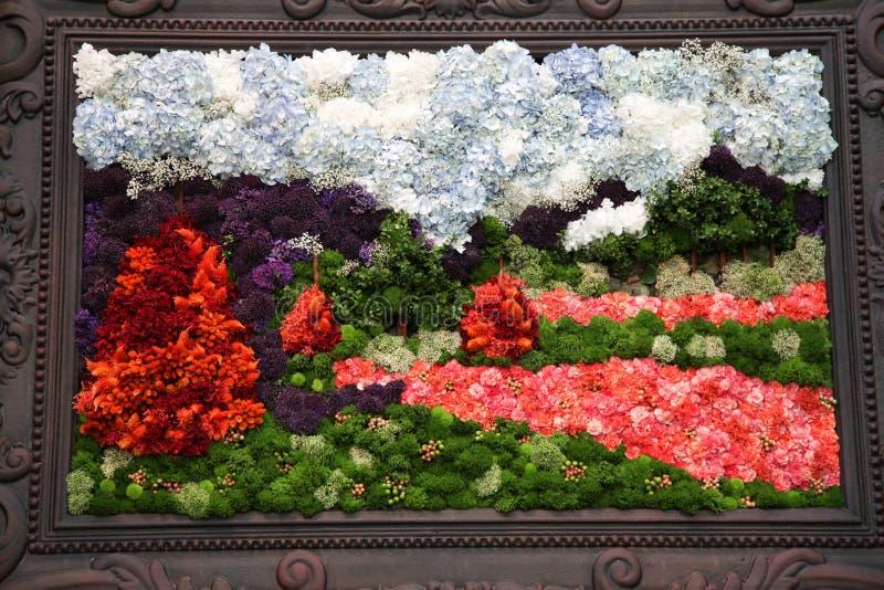 Flower art royalty free stock photography