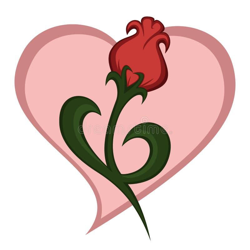 Flower art stock illustration