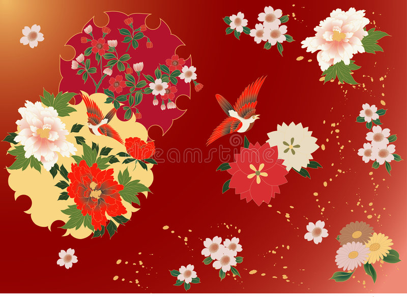 Download Flower Background Royalty Free Stock Images - Image: 1404149