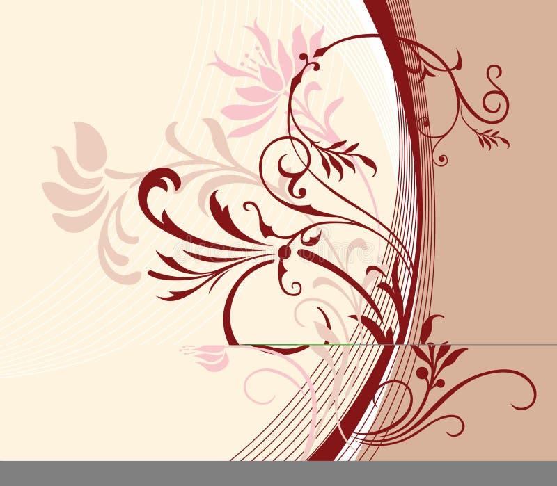 Flower_background illustrazione di stock
