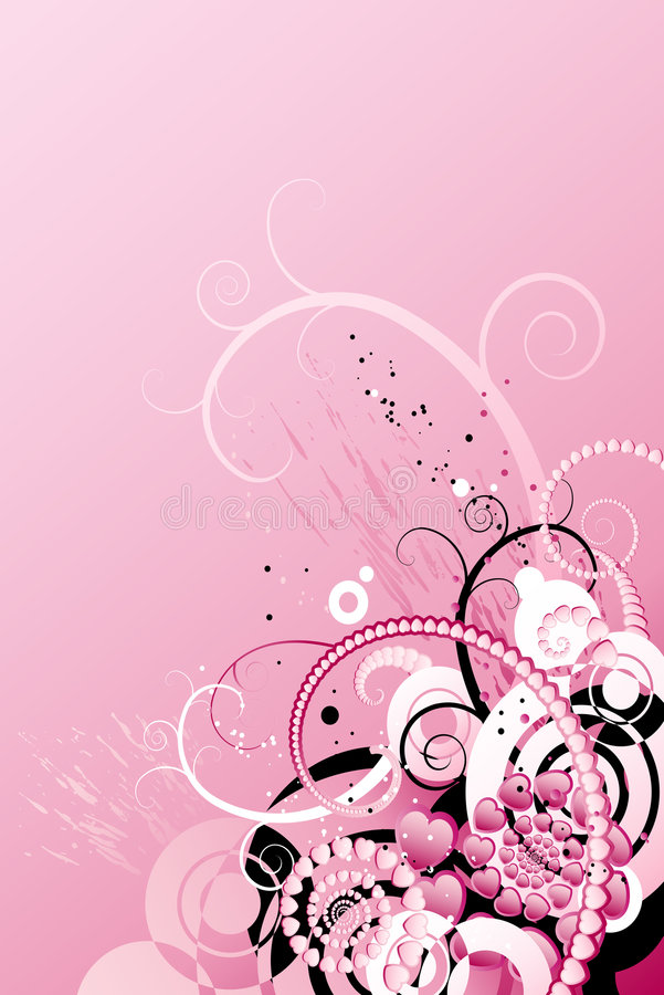 Download Flower background stock vector. Image of drawing, filigree - 8287966