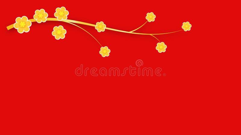 Flower background. Flower red background,cute,eps10 royalty free illustration