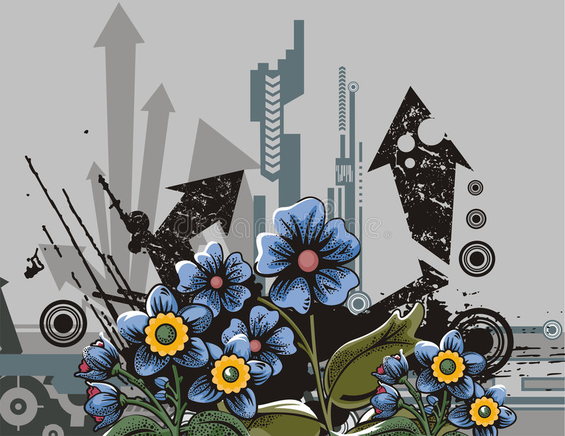 Download Flower Background Series Royalty Free Stock Photos - Image: 2645178