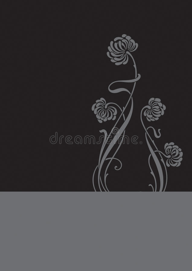 Download Flower Background (vector) Royalty Free Stock Images - Image: 9737979
