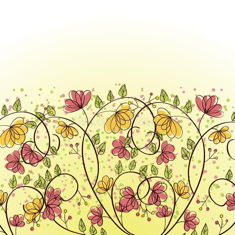 Download Flower background stock vector. Image of petal, grunge - 30466544