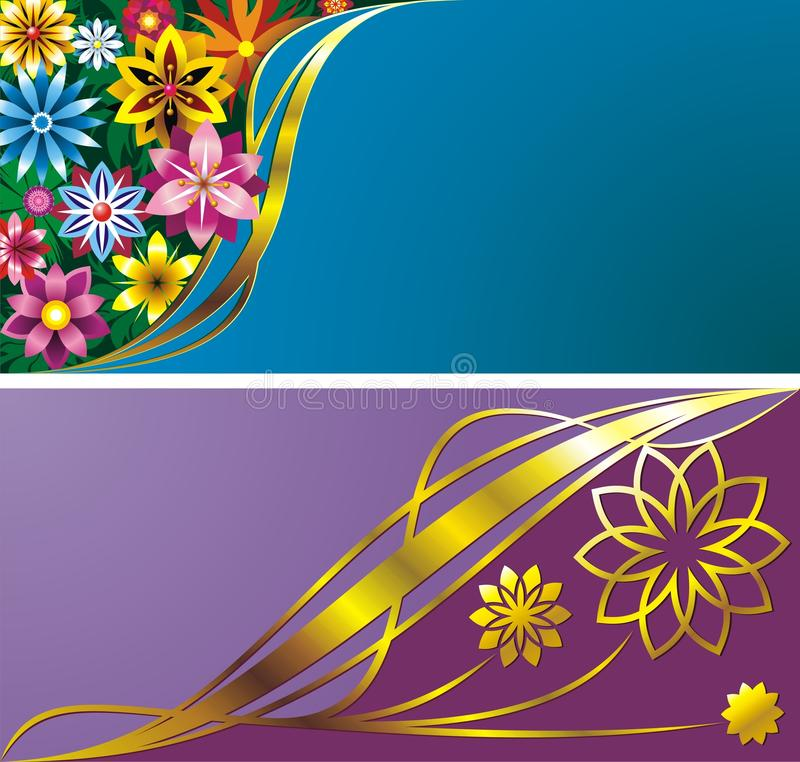 Download Flower backgrounds stock vector. Image of picture, post - 9763130