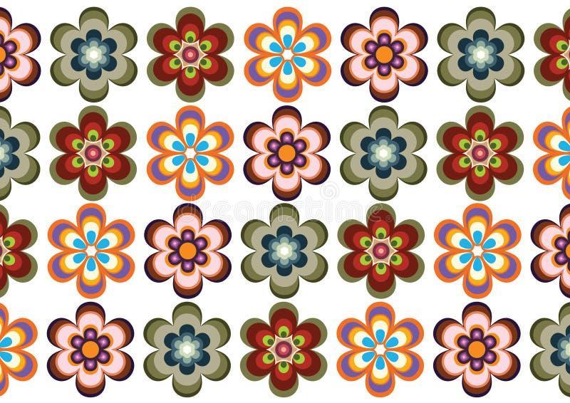 Flower backround royalty free illustration