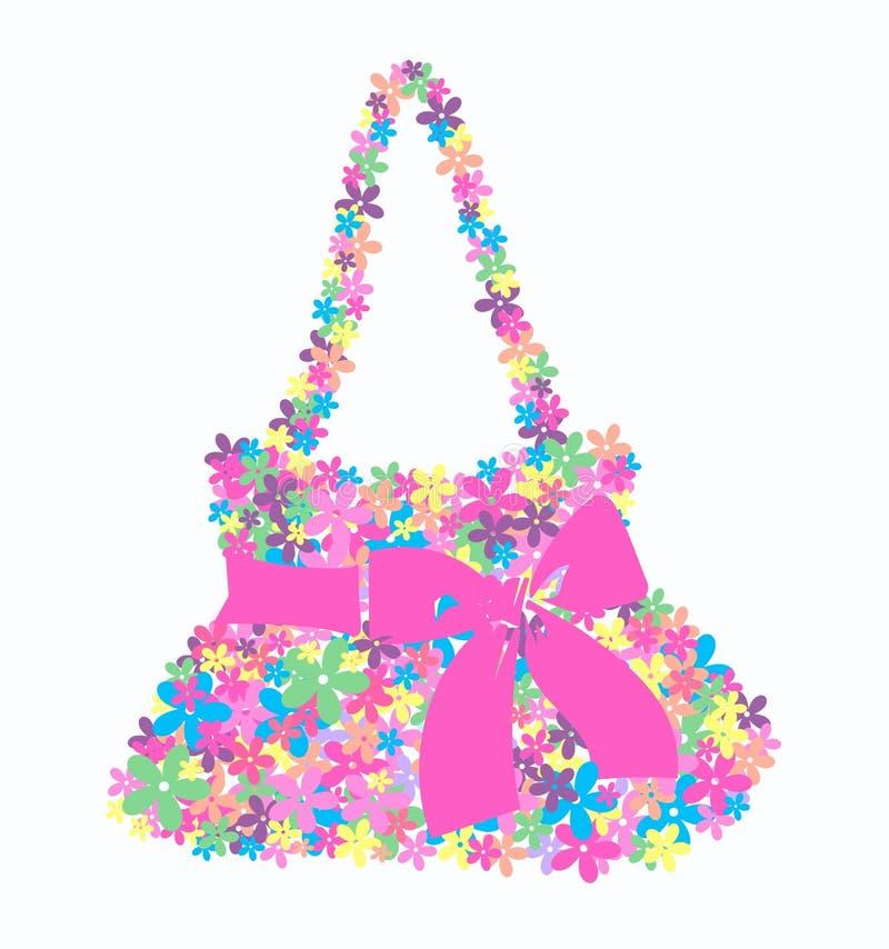 Flower bag stock illustration