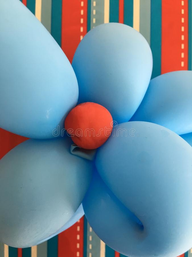 Flower Balloon royalty free stock image