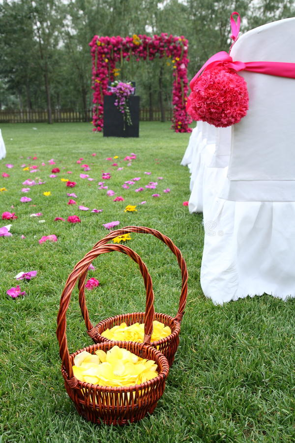 Download Flower basket stock image. Image of pure, ceremony, date - 12896941