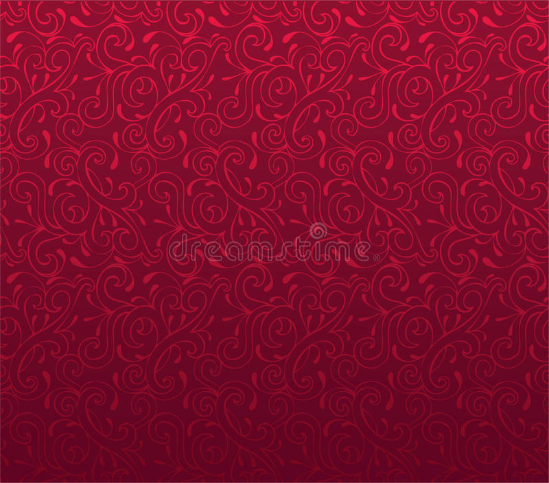 Flower beauty pattern royalty free illustration