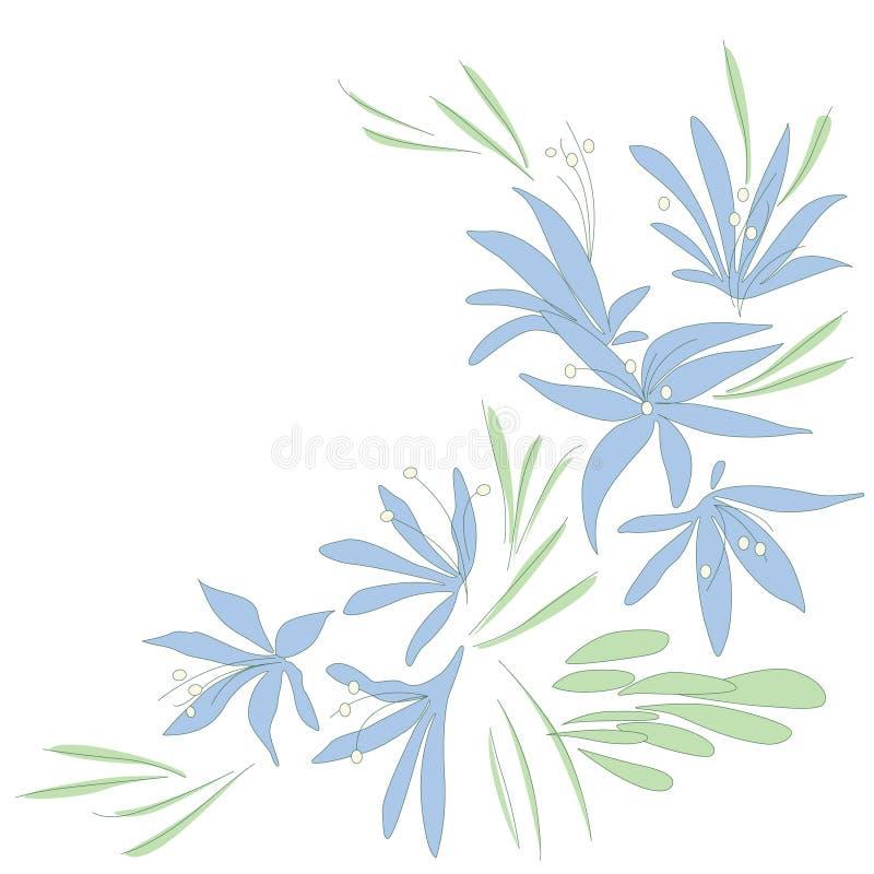 Flower_blue_delicate photo stock