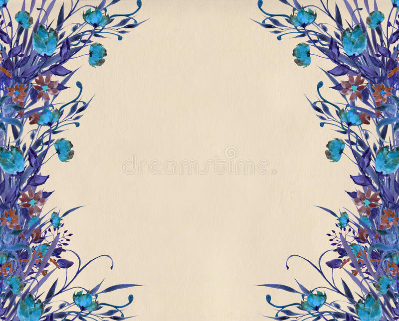 download flower border design illustration stock illustration illustration of ethnic design 68194472