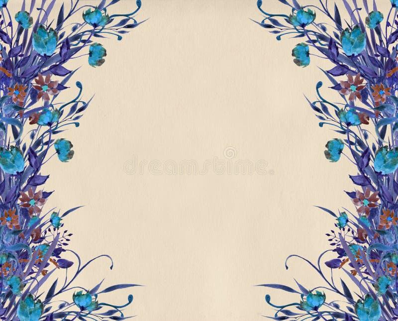 Download Flower Border Design Illustration Stock Illustration Illustration  Of Ethnic Design 68194472